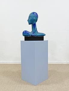 Laborcz Mónika - Mona porcelán szobor
