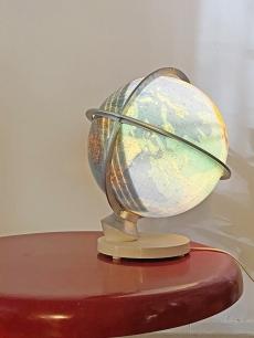 Duo világító földgömb