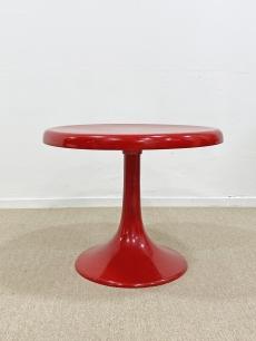 Space age design kávézó asztal