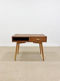 Fiókos mid-century modern asztal