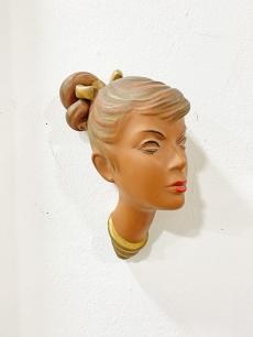 Cortendorf vintage falmaszk, szőke lány