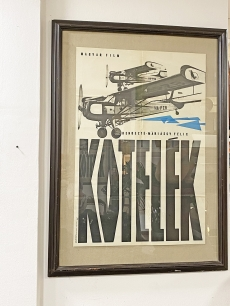 Máriássy Félix Kötelék című film, eredeti moziplakát 1968