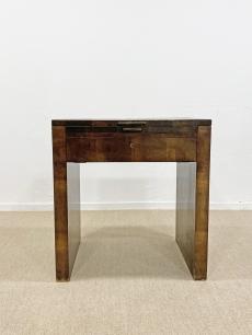 Art deco kinyitható fésülködőasztal