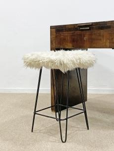 Hajtű lábú design ülőke