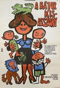 A bátor kisasszony - eredeti filmplakát