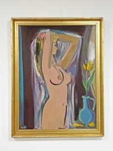 Jakab Eszter Női akt festmény