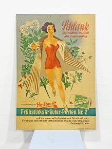 Korabeli szépségápolási reklámplakát 1955