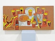 Elképesztő retro kerámia mozaik kép - FENNTARTVA