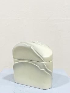 Bakó-Hetey Rozália Hollóházi porcelán bonbonier