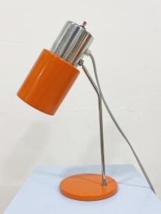 Narancssárga retro íróasztali lámpa