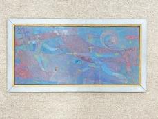 Vívók - festmény fa keretben - Nagy Tímea Olimpiai Bajnok