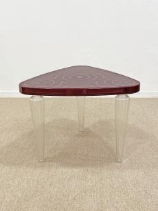 IKEA design kávézó asztal, feltölthető lábakkal