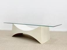 Space age, formatervezett dohányzó asztal 60's