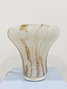 Olasz design márványos üveg lámpa