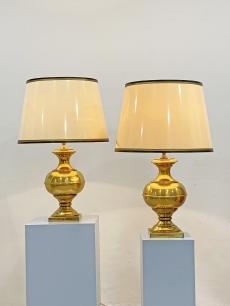Elképesztő arany hotel lámpa pár