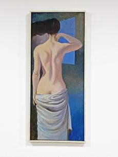 Izgalmas modernista női akt festmény
