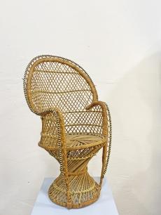 Aranyos dísz páva szék