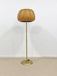 Vintage állólámpa háncs ernyővel