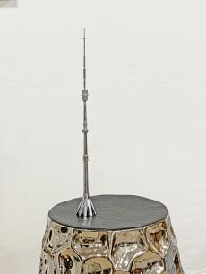 Króm torony szobor