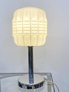 Lampion üveg design asztali lámpa