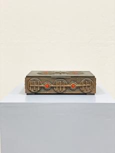 Bronz iparművészeti doboz - 1960 körül