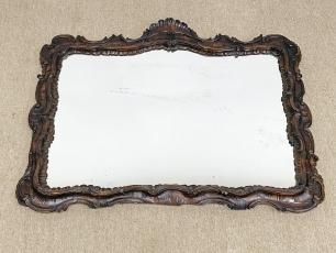 Pazar Bécsi barokk faragott tükör