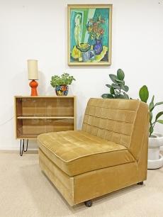 Retro kinyitható fotelágy