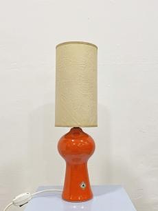 Iparművészeti kerámia asztali lámpa