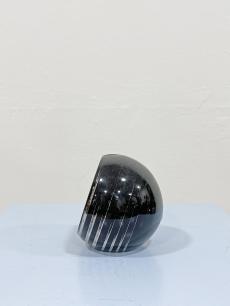 Art deco üveg gömb szivar hamuzó - 1935 körül