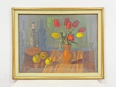 Schey Ferenc festmény - Asztali csendélet