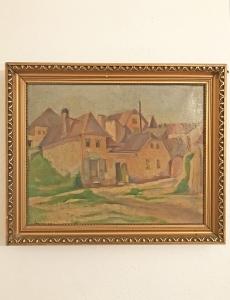 Tabán festmény - 1929