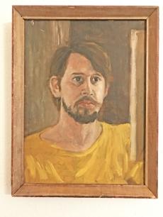 Szalay Pál önarckép festmény