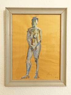 Szalay Pál - Női akt festmény