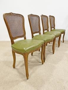 Chippendale bőr étkező székek