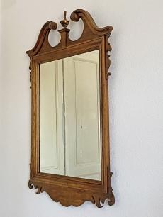 Faragott tölgyfa keretes Lenoir tükör