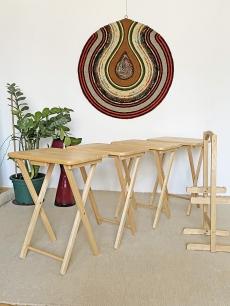 Összecsukható asztal garnitúra