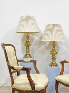 Elegáns aranyozott lámpa pár