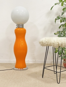 Carlo Nason Mazzega üveg design padlólámpa