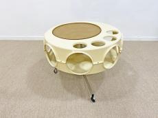 Curver Rotobar space age kínáló asztal