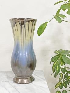 Bod Éva kék kerámia váza