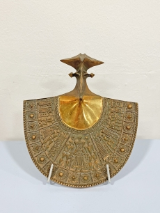 Papp Zoltán modernista bronz plasztika