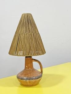 Retro kerámia asztali lámpa