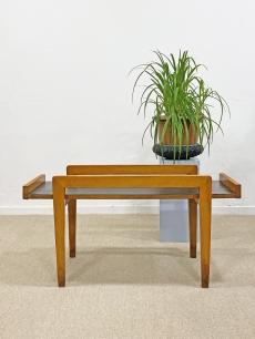 Mid-century modern tíkfa asztal