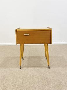 Mid-century modern tároló asztalka - 1960 körül
