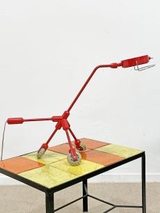 Különleges régi, design IKEA, guruló kutya lámpa