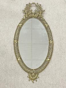 Pazar, spanyol, aranyozott regency tükör
