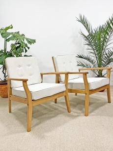 Mid-century modern fotel pár