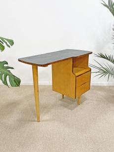 Mid-century modern, háromlábú íróasztal