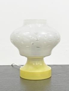 Design üveg asztali lámpa