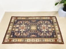 Elegáns Közel-keleti kézi szőnyeg